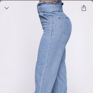 Brand new never worn , High waisted flare jean